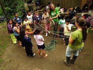 ecuador un poco del choco umwelterziehung workshop
