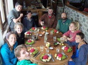 argentinien volontäre aldea luna kochen
