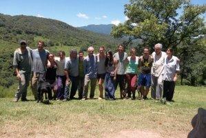 Argentinien Aldea Luna Gruppe Volontäre