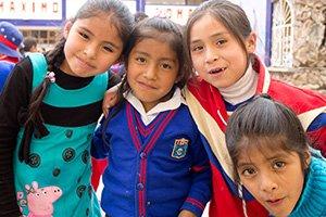 Volunteer in Peru: Heiner in Schulprojekten unterwegs