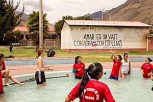 Volunteering im Sportunterricht in Peru