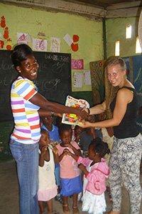 Gastgeschenke fürs Ausland - Freiwilligenprojekt