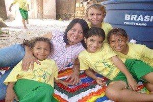 Freiwilligendienst in einem Projekt mit Schulkindern in Brasilien