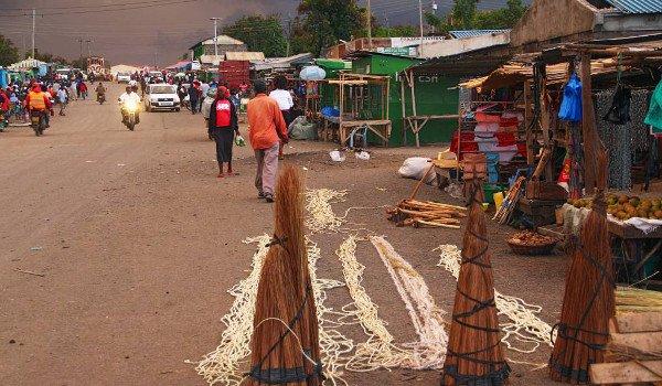 Menschen in Kenia