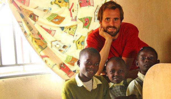 Tobias als Volunteer in Kenia