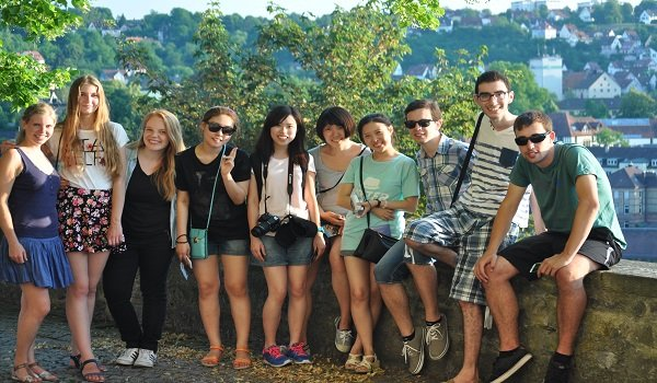 Internationale Workcamp Gruppe
