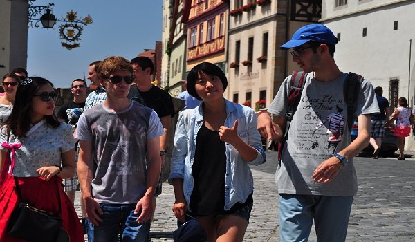 Workcamp - Ausflug nach Rothenburg