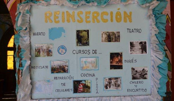 Projekt mit Haftinsassen in Leon