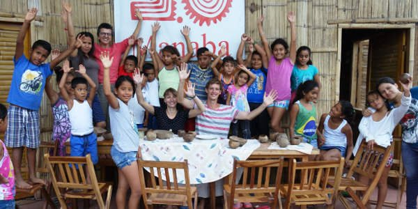 Isabel und Tom haben als Freiwillige ein soziales Projekt in Ecuador unterstützt